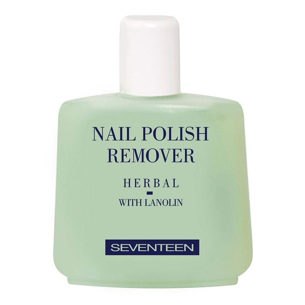 Жидкость Seventeen Nail Polish Remover Herbal in garden жидкость nail polish remover 100 мл