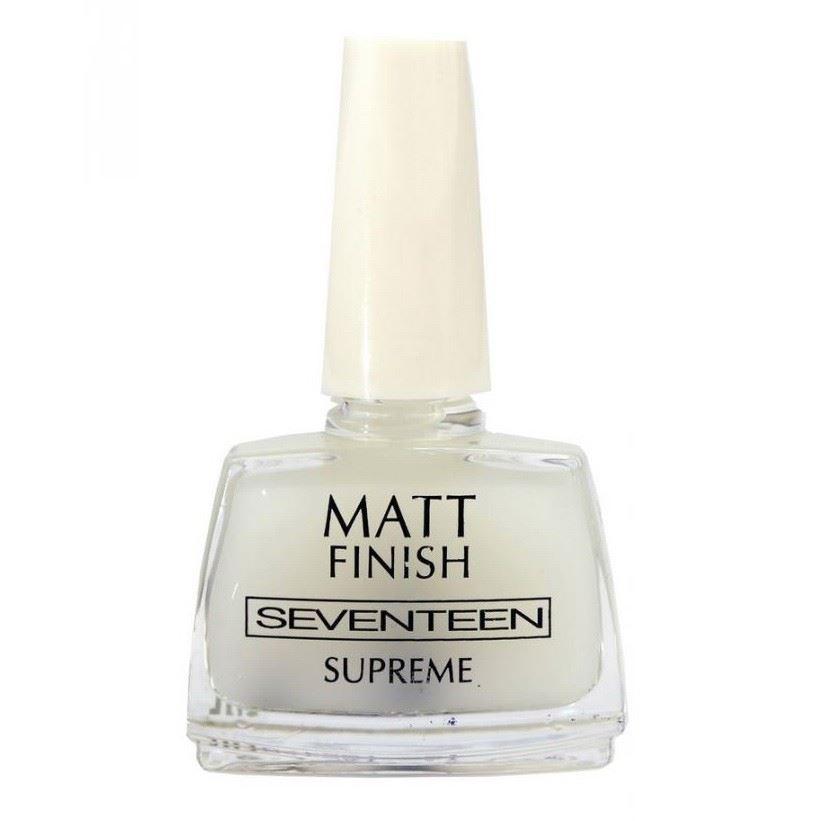 Лак для ногтей Seventeen Matt Finish Top Coat лак для ногтей isadora gel nail lacquer верхнее покрытие top coat 210