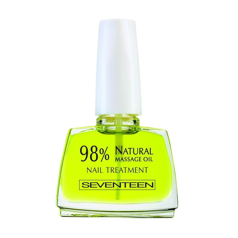 Масло Seventeen Natural Massage Oil Nail Treatment 98% 12 мл