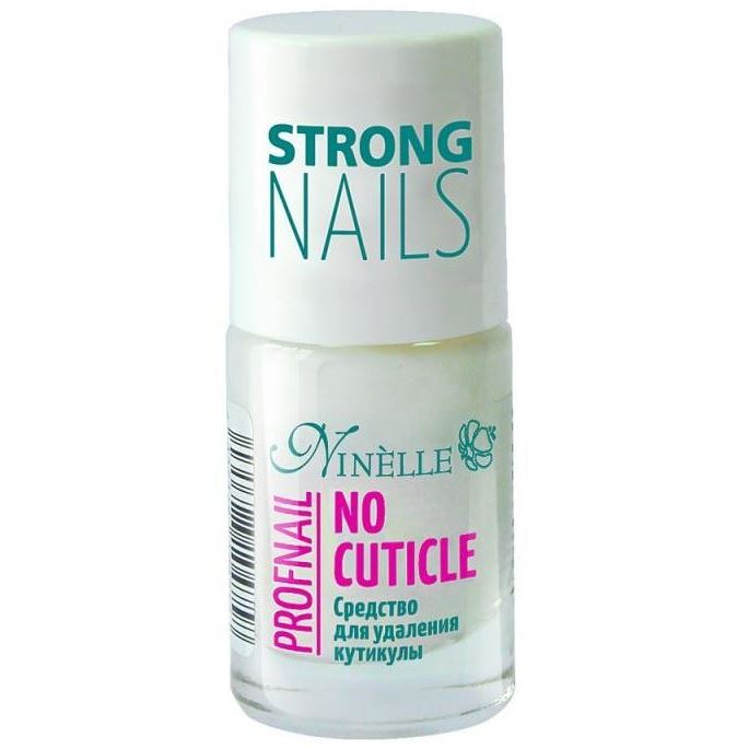 Лак Ninelle No Cuticle Profnail 11 мл berenice средство пилинг для удаления кутикулы cuticle peeling 16 мл