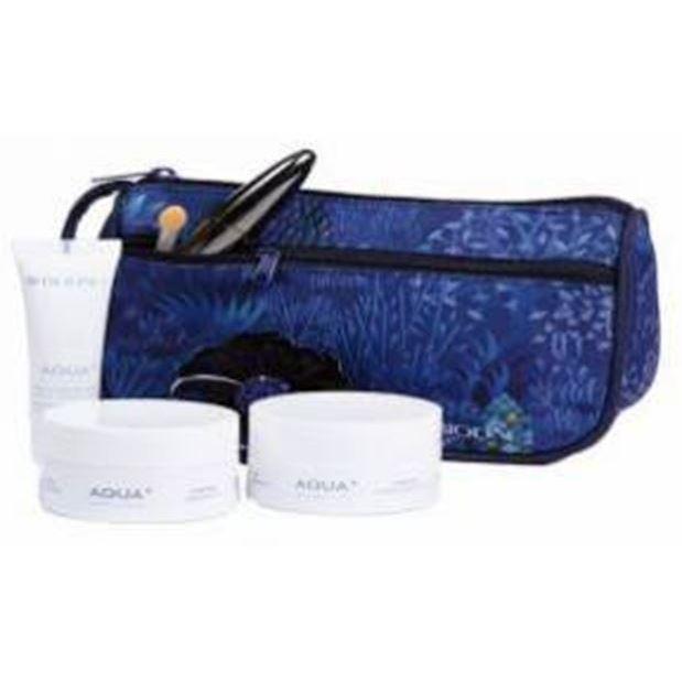 Набор: Набор Bioline JaTo Beauty Gift Aqua+ (бьюти-кейс) bioline jato крем для ухода за контуром глаз и губ с гиалуроновой кислотой bioline jato lifting code eye