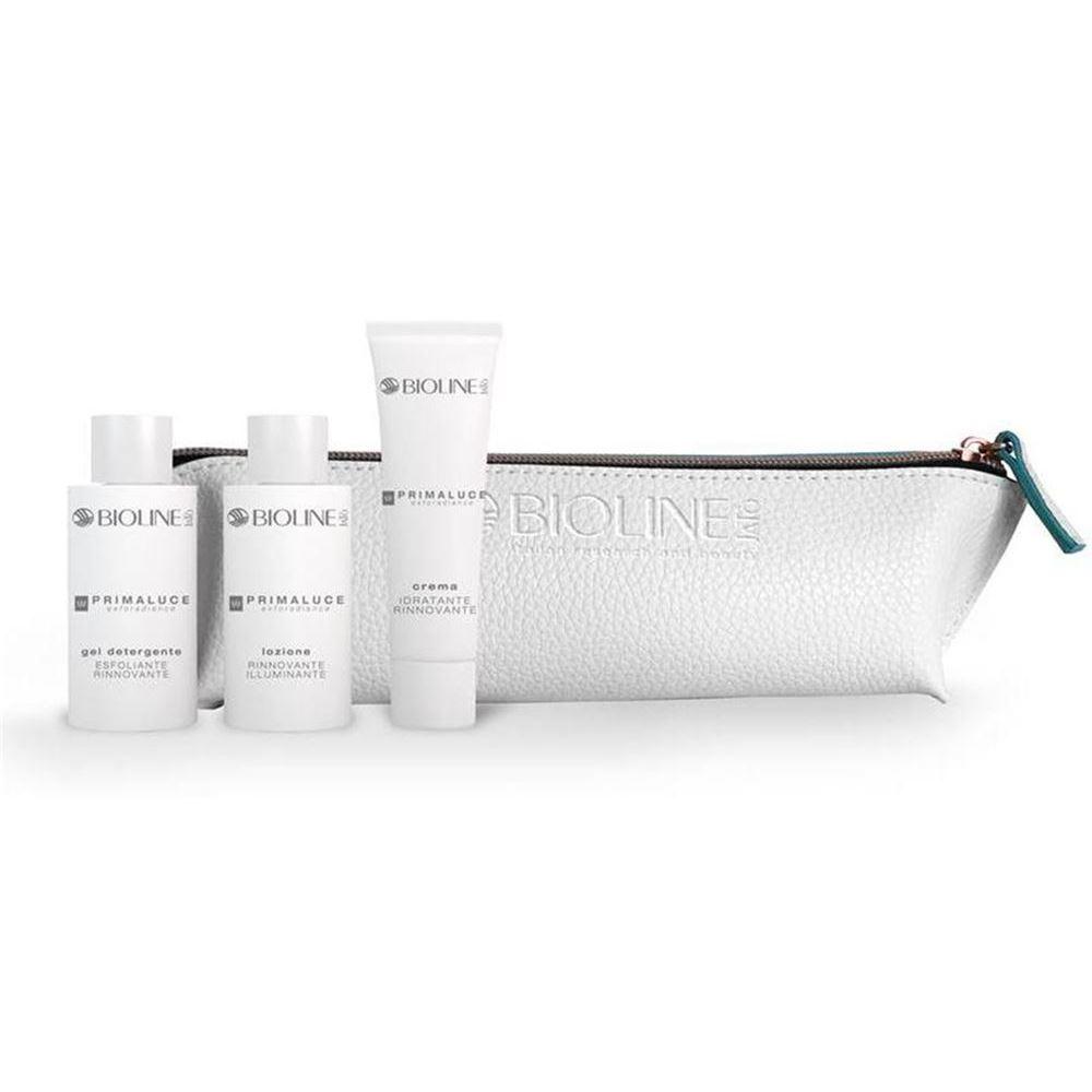 Набор Bioline JaTo Primaluce Pensil-Case (Набор: гель, 50 мл + лосьон, 50 мл + крем, 50 мл) набор набор bioline jato travel gift кit pure