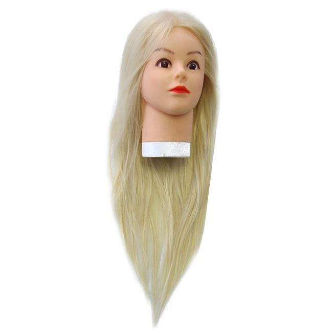 Сопутствующие товары Harizma Professional h10822 Голова учебная блондин (1 шт) манекен с натуральными волосами