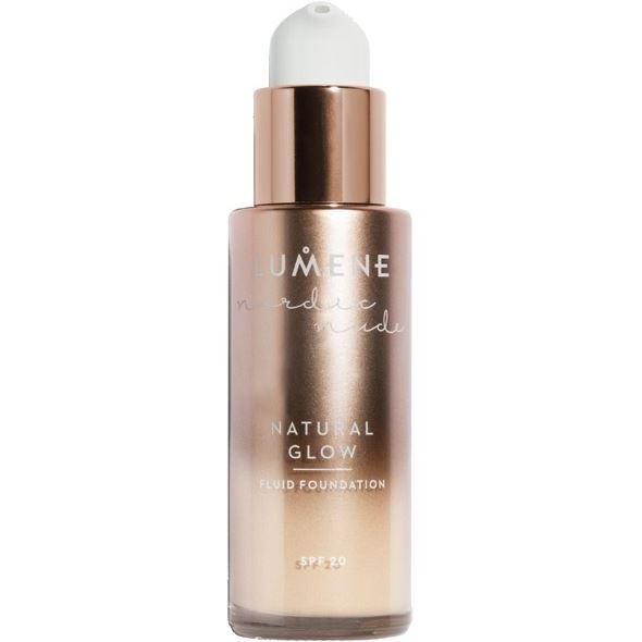 Тональный крем Lumene Nordic Nude Natural Glow Fluid Foundation SPF 20 (6) lumene natural code skin perfector 10 vanilla купить