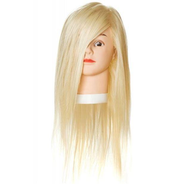 Сопутствующие товары Harizma Professional h10824 Голова учебная блондин (1 шт) сопутствующие товары harizma professional h10503 кобура для ножниц прямоугольник 1 шт