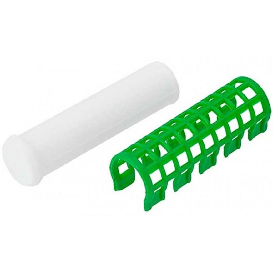 Сопутствующие товары Harizma Professional h10981-23 Термобигуди 23 мм, зеленые (1 шт) сопутствующие товары harizma professional h10503 кобура для ножниц прямоугольник 1 шт