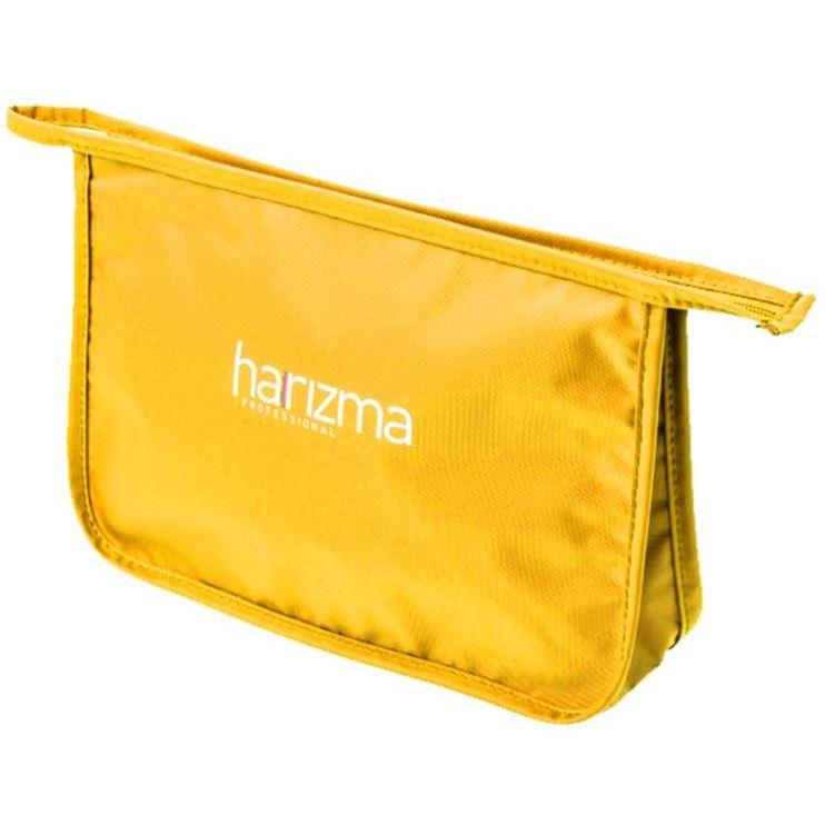 Косметичка Harizma Professional h10924-09 Косметичка желтая 29х20х7.5 см (1 шт)