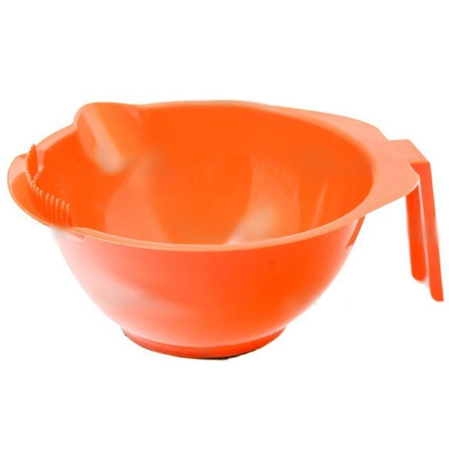 Емкость Harizma Professional h10816 Миска для окрашивания 310 мл, оранжевая (1 шт) сопутствующие товары harizma professional h10927 кобура для инстументов на пояс 1 шт