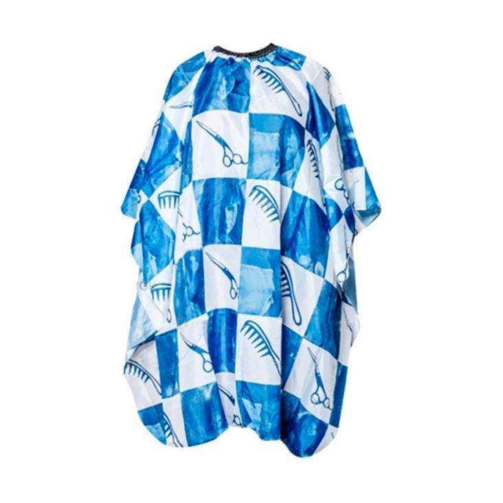 Сопутствующие товары Harizma Professional h10860 Пеньюар на крючках с синим рисунком (1 шт) плойка harizma professional h10219 glory фен плойка 1 шт
