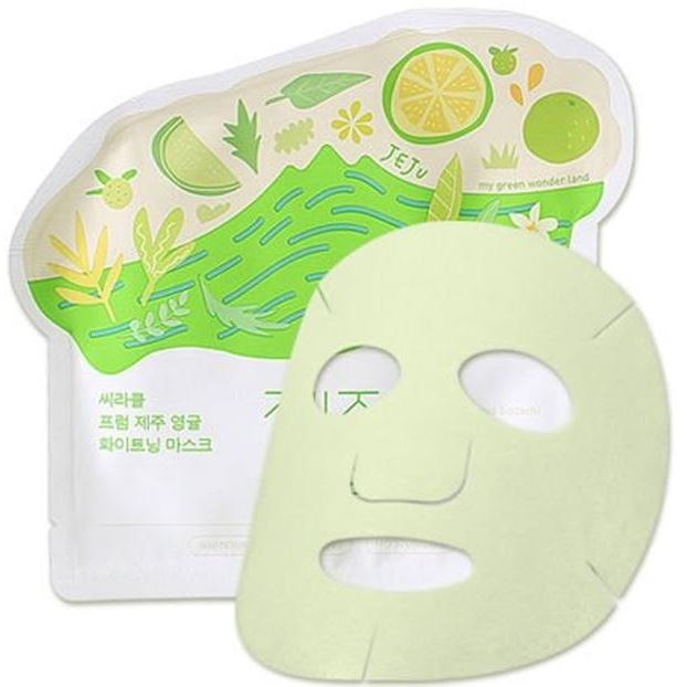 Маска Ciracle Jeju Citrus Sudachi Whitening Mask (1 шт) yixing tea wholesale pu er tea cake 3 mug selection mixed batch number