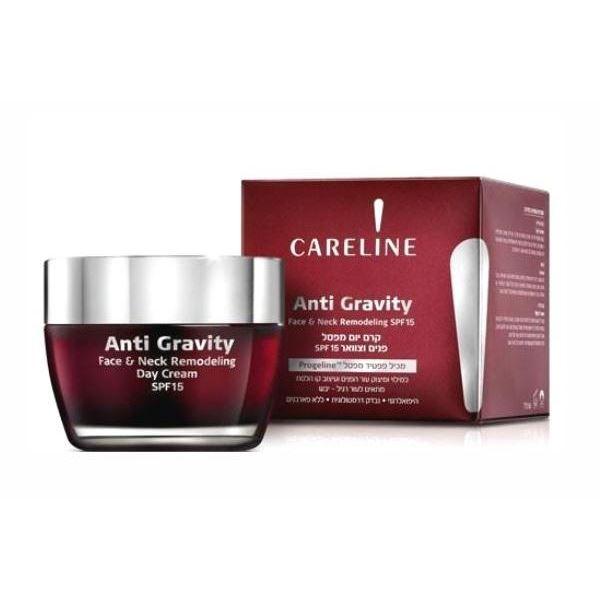 Дневной уход Careline Anti Gravity Face & Neck Remodeling Day Cream SPF 15 50 мл kay memorial tablets careline 300