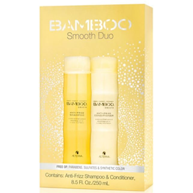 Набор: Кондиционер Alterna Bamboo Smooth Holiday Duo цена 2017