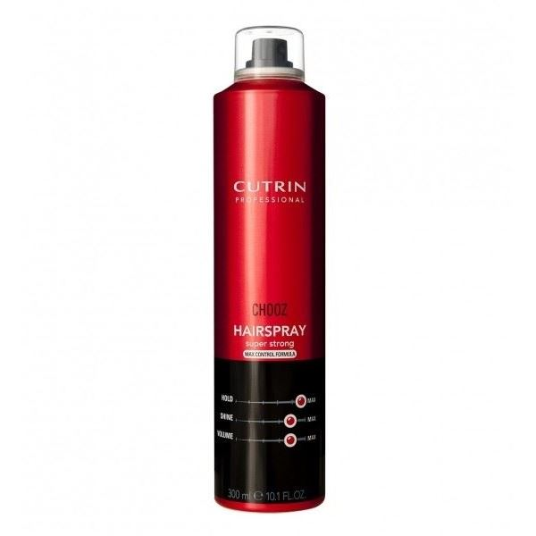 Лак Cutrin Chooz Hairspray Super Strong Max Control Formula 450 мл лак framesi by super hold hairspray