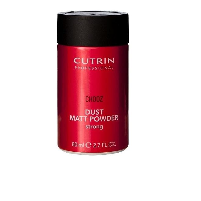 Пудра Cutrin Chooz Dust Matt Powder Strong  80 мл mac splash and last pro longwear powder устойчивая компактная пудра dark tan