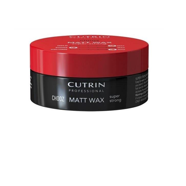 periche воск с матовым эффектом для укладки волос isoft matt clay wax 100 мл Воск Cutrin Chooz Matt Wax Super Strong