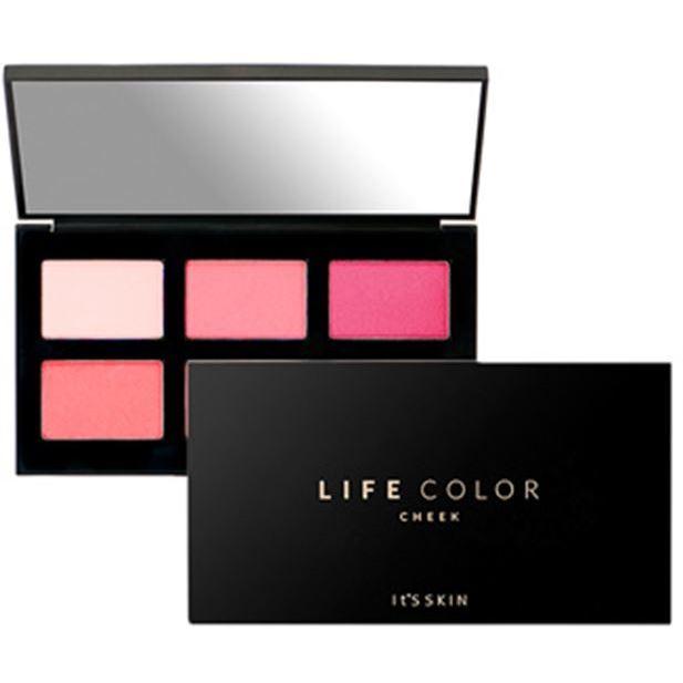 Палетки It s Skin Life Color Palette Cheek (02 Merry-Pop) it s skin успокаивающеегидрофильное