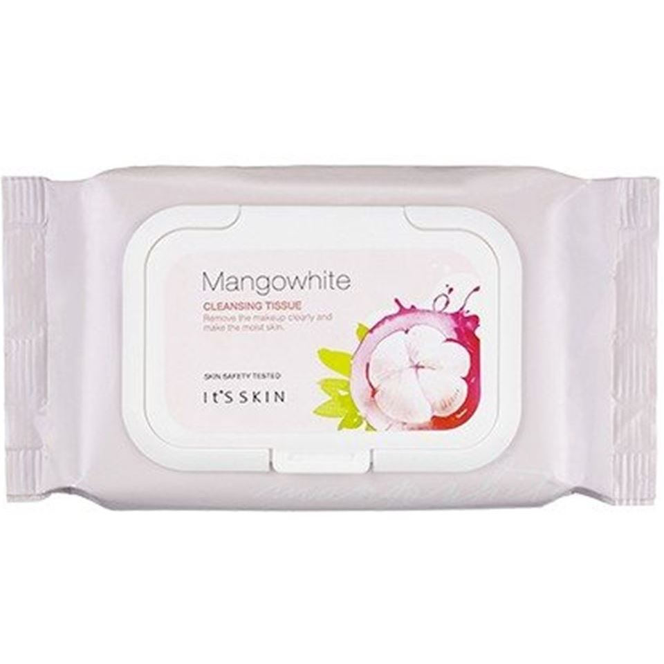 Салфетки It s Skin Mangowhite Cleansing Tissue (50 шт) масло it s skin green tea calming cleansing oil