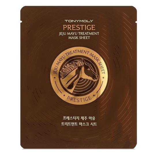 Маска Tony Moly Prestige Jeju Mayu Treatment Mask Sheet (1 шт) тканевая маска tony moly i m real makgeolli mask sheet объем 21 мл