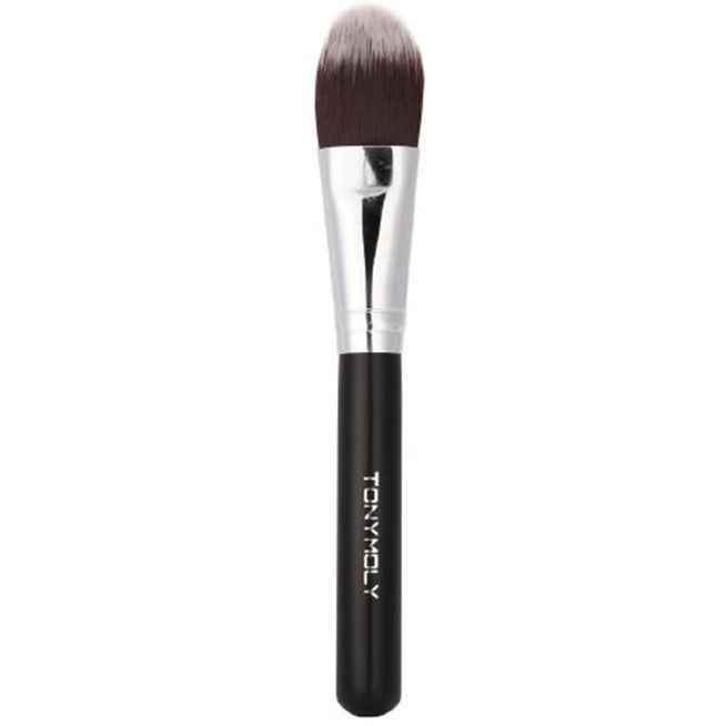 Кисть Tony Moly Professional Foundation Brush  (1 шт) кисть tony moly professional blending shadow brush 1 шт