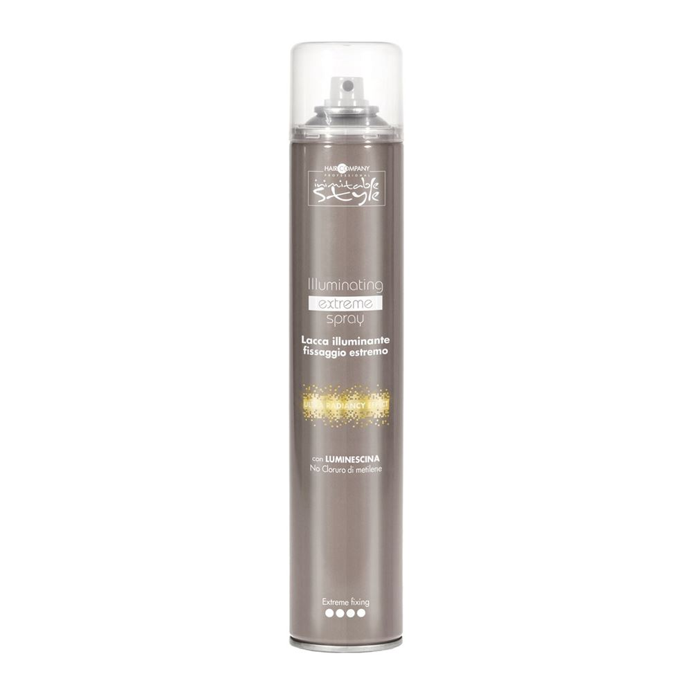Лак Hair Company Illuminating Extreme Spray 500 мл hair company маска придающая блеск illuminating mask 1 л