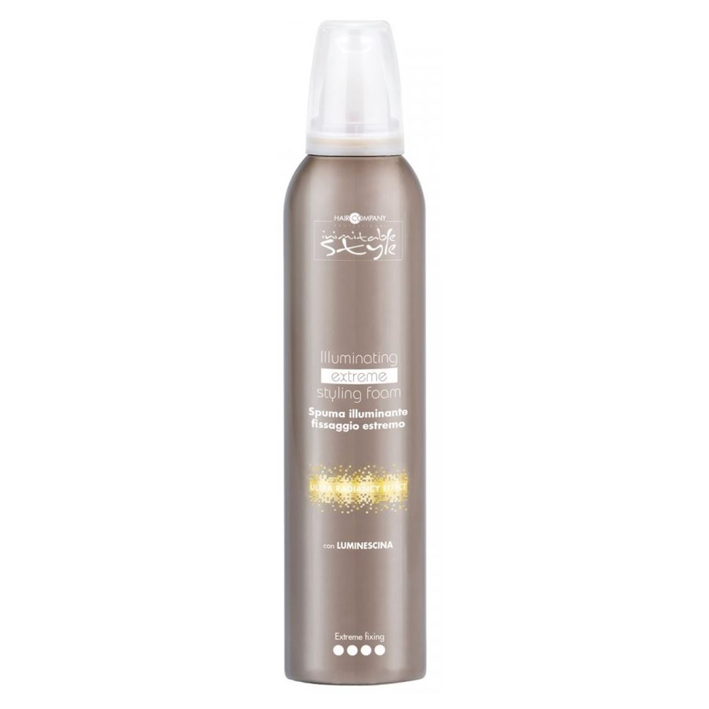 Мусс Hair Company Illuminating Extreme Styling Foam 250 мл hair company маска придающая блеск illuminating mask 1 л