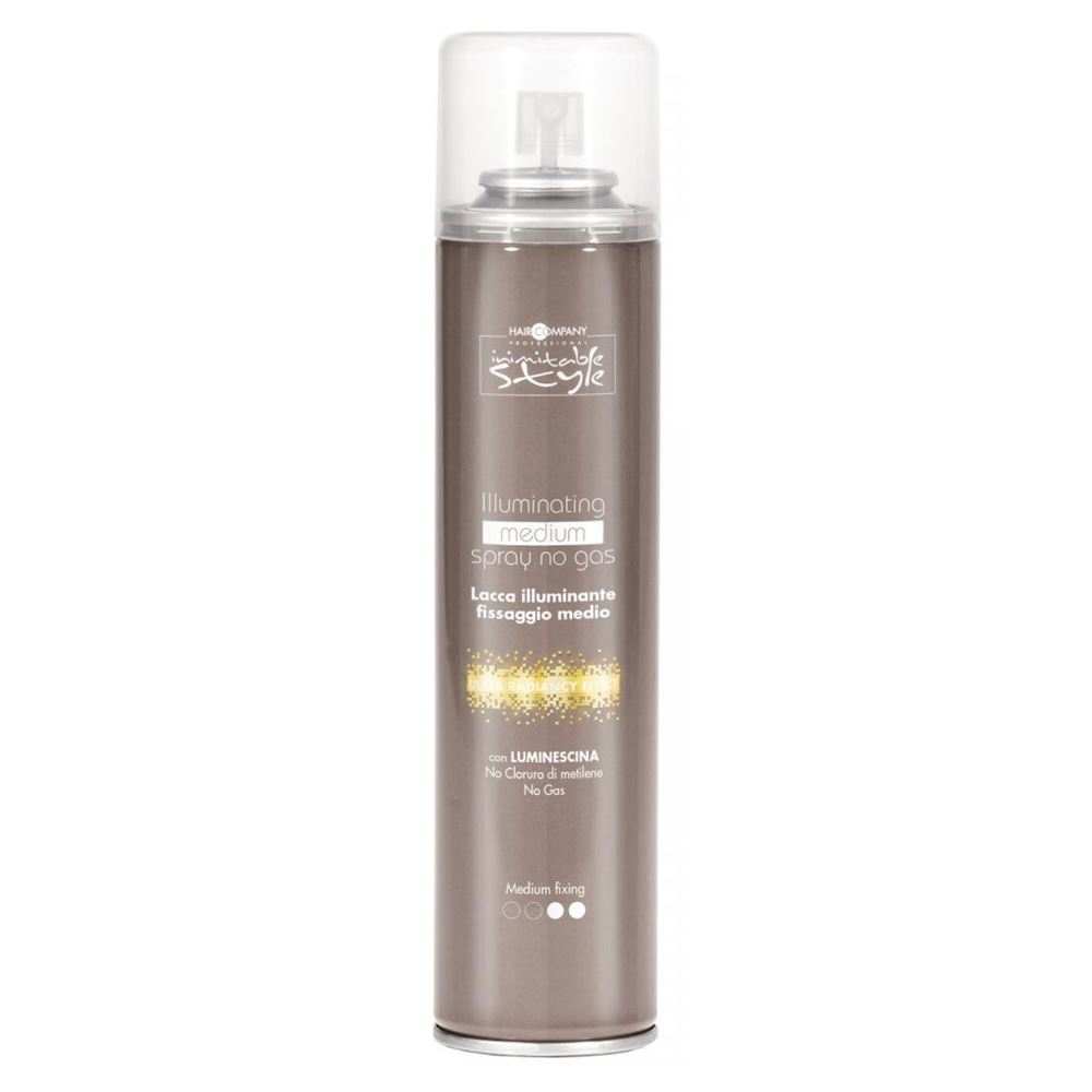 Лак Hair Company Illuminating Medium Spray No Gas 300 мл hair company маска придающая блеск illuminating mask 1 л