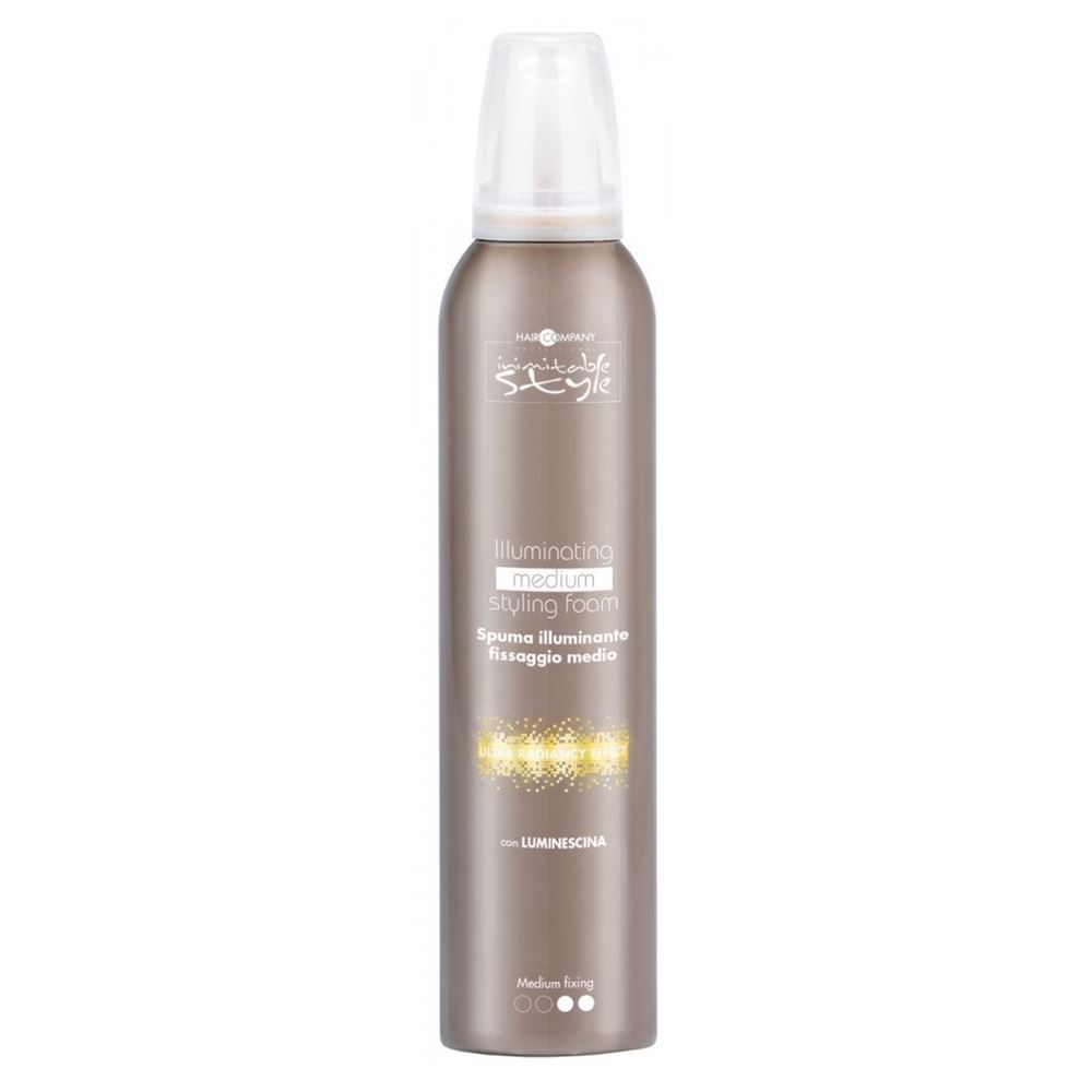 Мусс Hair Company Illuminating Medium Styling Foam 250 мл hair company маска придающая блеск illuminating mask 1 л