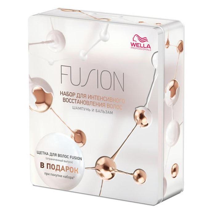 Набор Wella Professionals Набор Fusion Шампунь + Бальзам (Набор: шампунь, 250 мл + бальзам, 200 мл) недорого