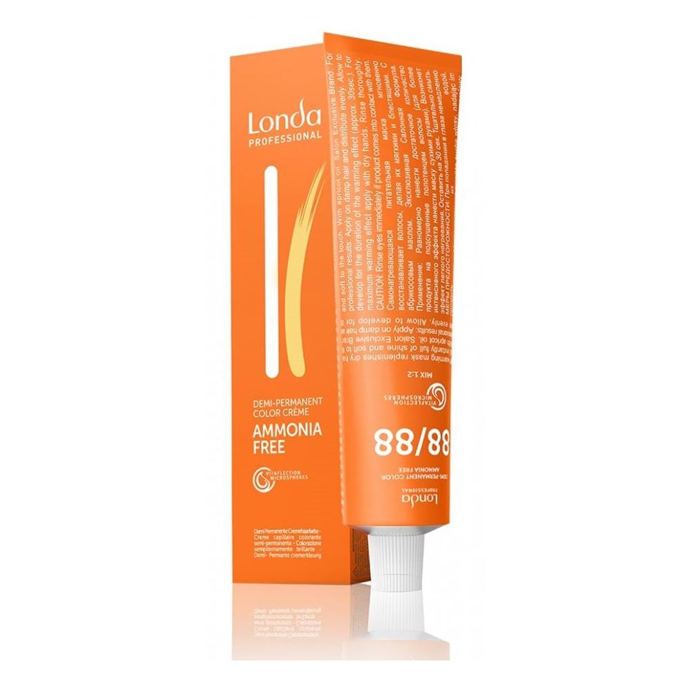 Краска для волос Londa Professional Ammonia Free Demi-Permanent Color Creme (9/73) краска для волос kapous professional hair color cream with keratin non ammonia na 912 ультра светлый бежевый блонд