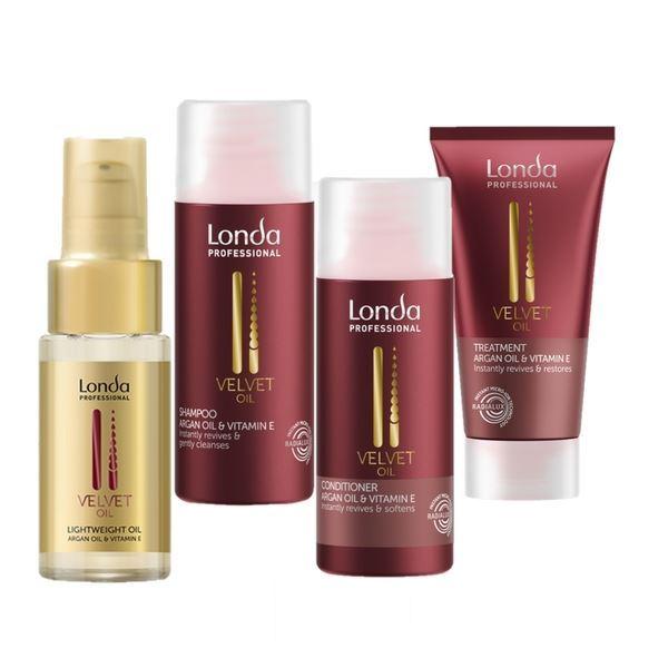 Набор: Гель Londa Professional Velvet Oil Travel Set marc anthony marc anthony сухое восстанавливающее масло для укладки волос oil of morocco 120 мл