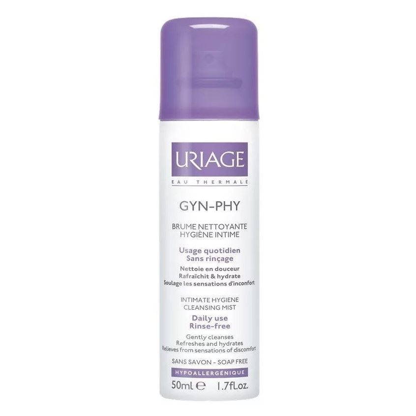 Пенка Uriage GYN-PHY Intimate Cleansing Mist Without Rinsing