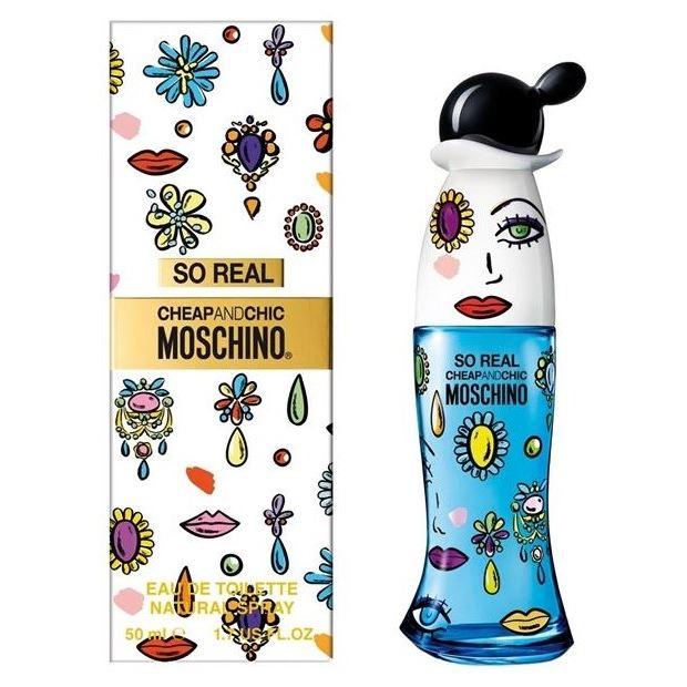 Туалетная вода Moschino So Real Cheap & Chic 50 мл туалетная вода moschino cheap