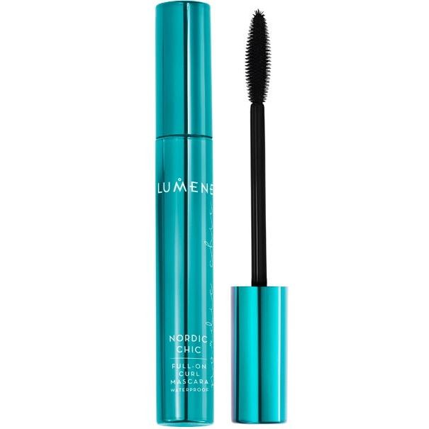 Тушь для ресниц Lumene Nordic Chic Full-On Curl Waterproof Mascara (Черный) тушь для ресниц chado mascara divin 230 цвет 230 brun variant hex name 635352