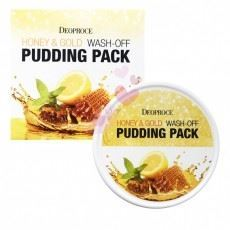 Маска Deoproce Honey & Gold Wash Off Pudding Pack (110 г) маска deoproce special water plus sleeping pack
