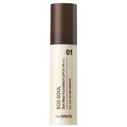 База под макияж The Saem Skin Wear Foundation SPF20 PA++ (N 1.5 Warm) the saem eco soul bounce cream foundation 02 natural beige тональная основа для макияжа тон 02 15 гр