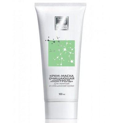 Крем Beauty Style Крем-маска Контрольочищающая для жирной и смешанной кожи  50 мл markell крем комфорт bio helix для жирной и комбинированной кожи 50 мл
