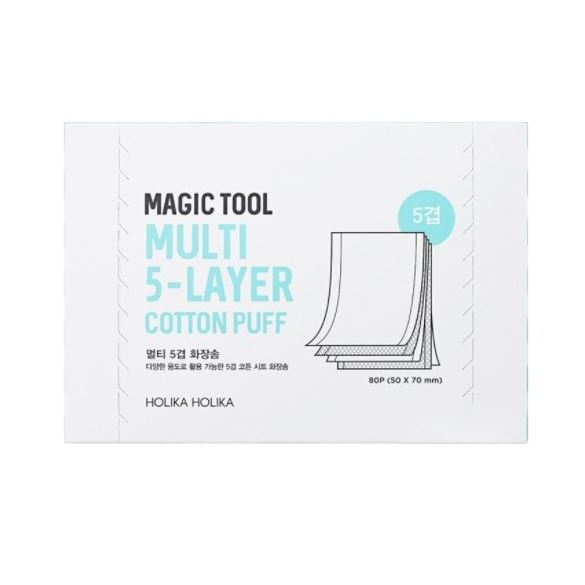 все цены на Сопутствующие товары Holika Holika Magic Tool Multi (5-layer) Cotton Pads (1 упаковка) онлайн