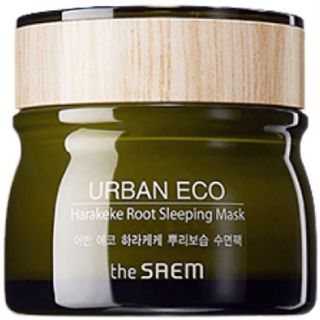 Маска The Saem Urban Eco Harakeke Root Sleeping Mask 80 мл маска тканевая с экстрактом бамбука natural bamboo mask sheet the saem
