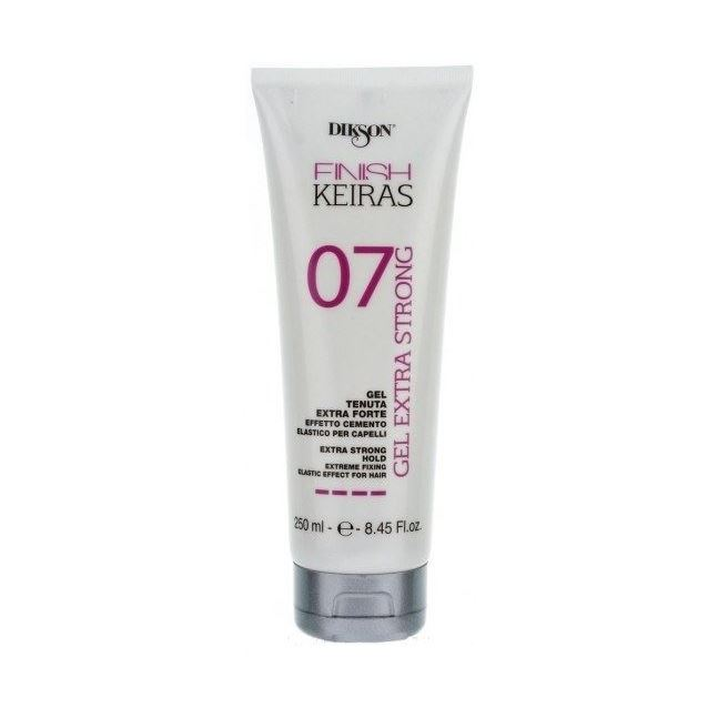 Гель Dikson FINISH KEIRAS. Gel Extra Strong 07 250 мл гель schwarzkopf professional 4 ultra strong control play tough gel 150 мл