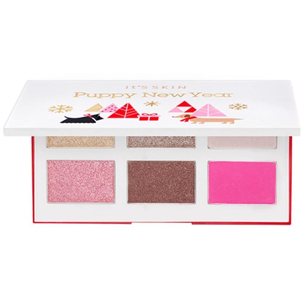 Палетки It s Skin Puppy New Year Life Color Palette (Розовая) it s skin успокаивающеегидрофильное