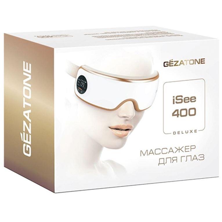 Массажер Gezatone ISee 400 Deluxe Массажер для глаз (ISee 400 Deluxe) массажер для зоны вокруг глаз свежий взгляд