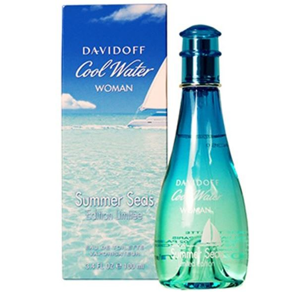 Туалетная вода Davidoff Cool Water Woman Summer Seas 100 мл davidoff silver shadow в омске