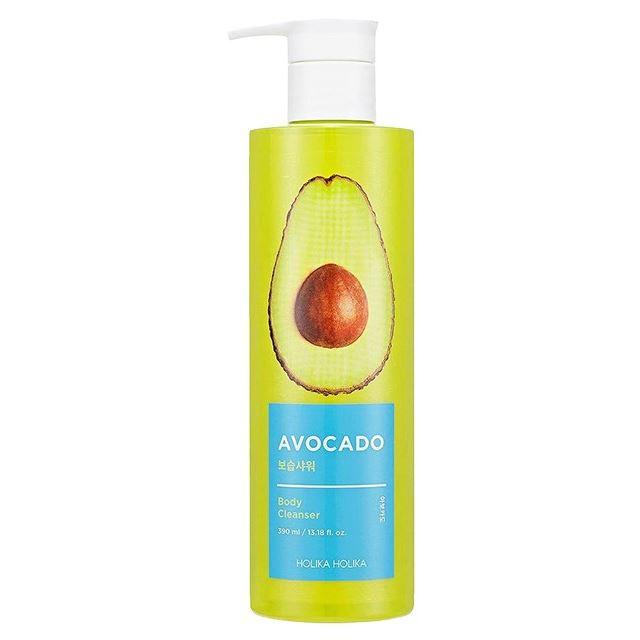 Гель для душа Holika Holika Avocado Body Cleanser  390 мл ночная маска holika holika honey sleeping pack canola объем 90 мл