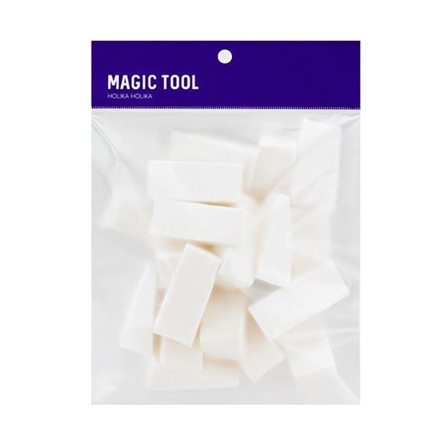 Спонж Holika Holika Magic Tool Foundation Sponge 20P (20 шт) qvs спонж профессиональный для основы макияжа professional foundation sponge