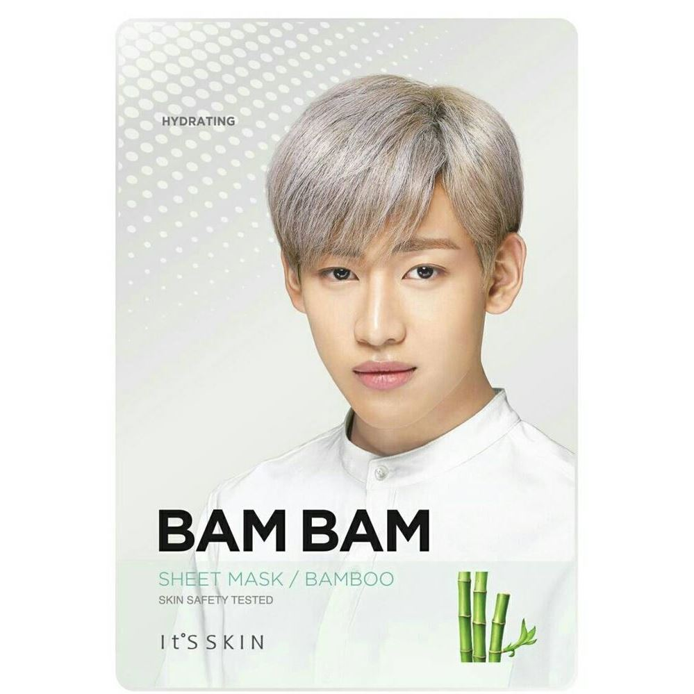 Маска It s Skin Bam Bam Bamboo Mask Sheet (19 г х 12 шт) маска it s skin green tea watery mask sheet 1 шт