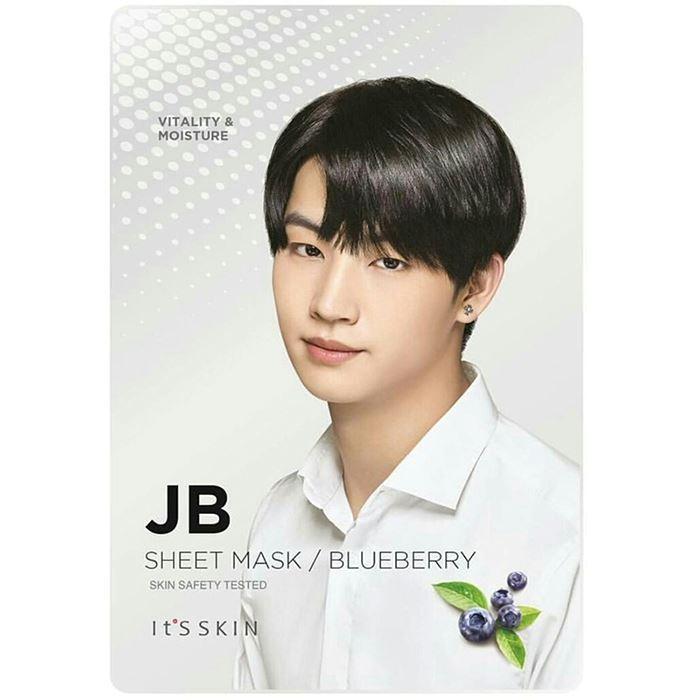 Маска It s Skin JB Blueberry Mask Sheet (1 шт) it s skin успокаивающеегидрофильное