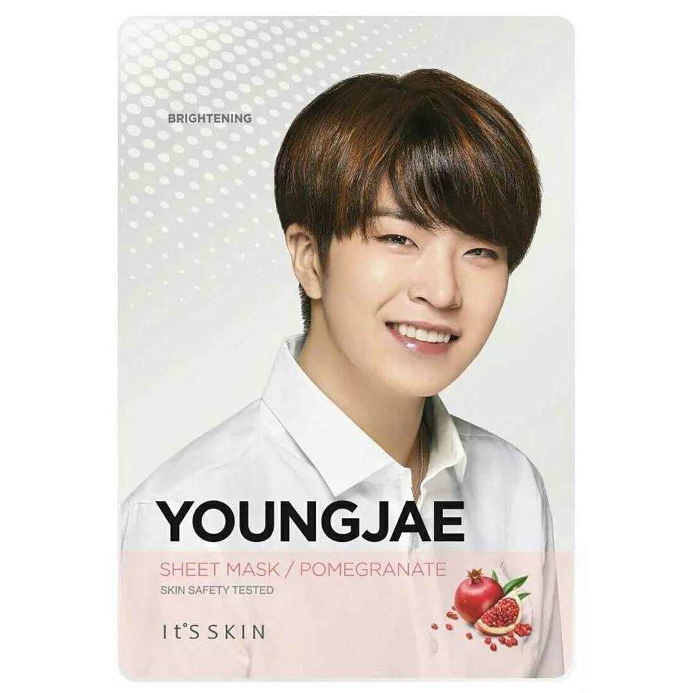 Маска It s Skin Youngjae Pomegranate Mask Sheet (1 шт) it s skin успокаивающеегидрофильное