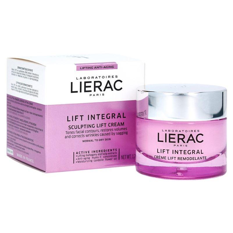 Крем Lierac Lift Integral Day Remodelante Sculpting Lift Cream  50 мл lierac лиерак деридиум крем питательный для сухой и очень сухой кожи банка 50 мл