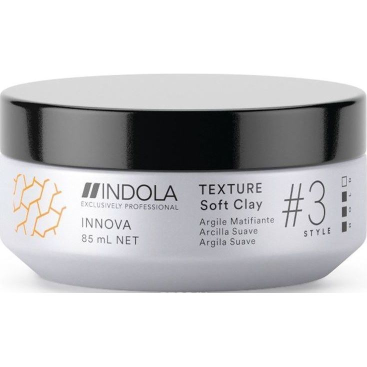 Гель Indola Professional Innova Texture Soft Clay  85 мл бальзамы indola бальзам indola keratin straight 150 мл