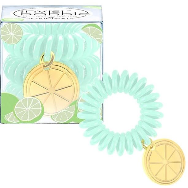 Invisibobble Tutti Frutti Lime Time (набор: 3 шт) набор invisibobble styling box